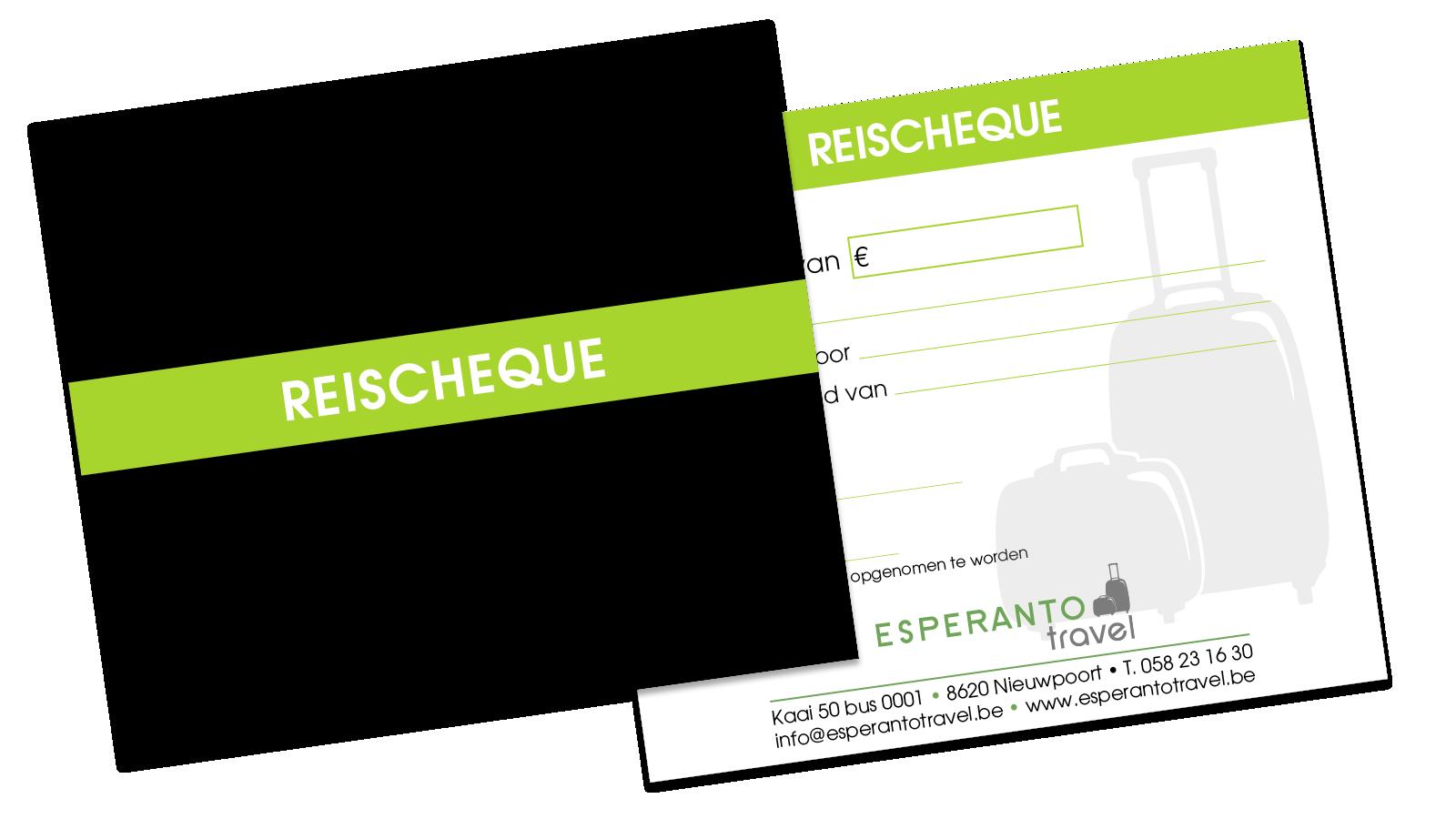 Onze reischeque is ideaal als cadeautip of cadeau idee | Esperanto Travel - Reisbureau Nieuwpoort